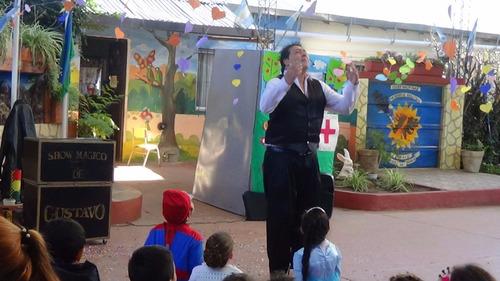 el mago gustavo,show de magia,adultos,infantiles, zona norte