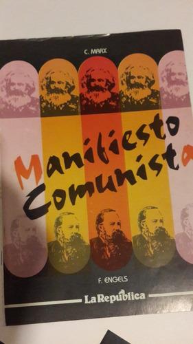 el manifiesto comunista, 40 pag, la república