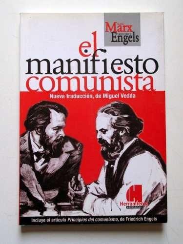 el manifiesto comunista nueva traduccion de miguel vedda