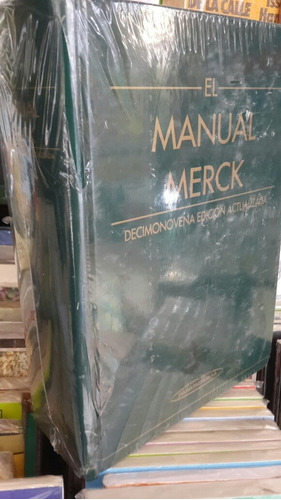 el manual merck, 19 decimonovena edicion actualizada sin uso