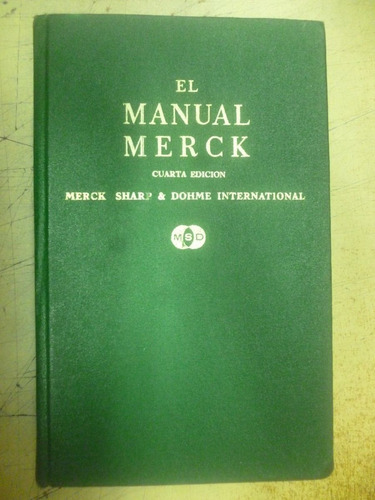 el manual merck - cuarta edicion