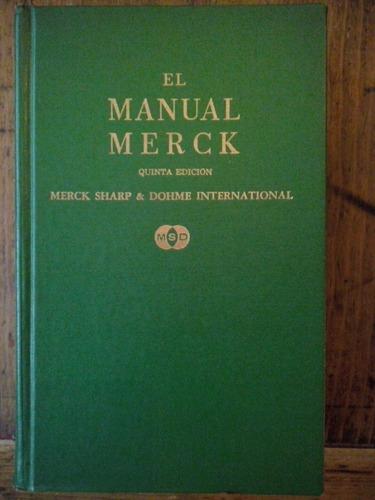 el manual merck quinta edición