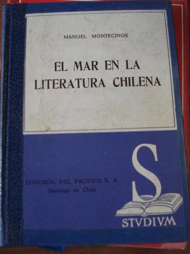 el mar en la literatura chilena - manuel montecinos