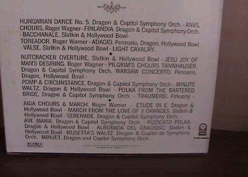 el maravilloso mundo de la sinfonica caja dura 3 acetatos