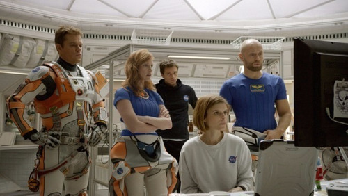 el marciano andy weir - marte misión rescate