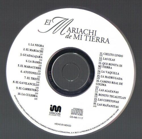 el mariachi de mi tierra cd edicion unica 1994  idd