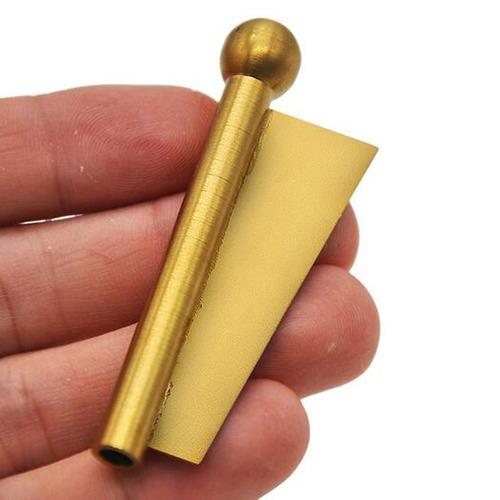 el más nuevo metal nasal tabaco sniffer paja snorter despabi