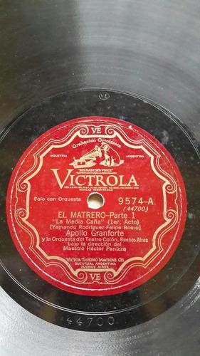 el matrero opera argentina canta apolo granfort