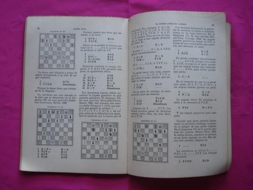 el medio juego en ajedrez - ruben fine - 1° edicion 1957