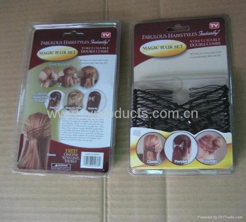 el mejor kit de peinado rapido en casa x 3 unidades y color
