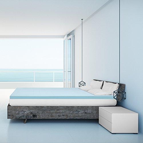El Mejor Precio Colchon 25 Pulgadas Gel Memory Foam Bed Top 374 900 En Mercado Libre