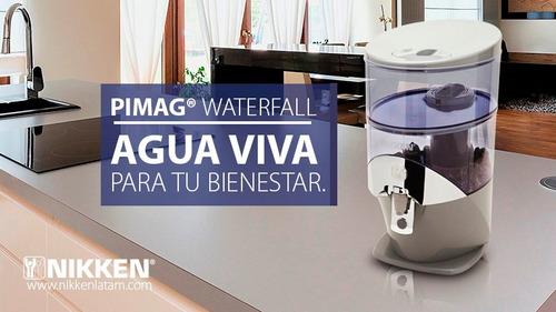 el mejor purificador de agua pimag waterfall nikken