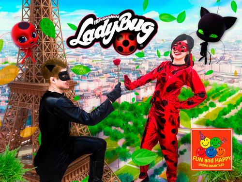 el mejor show infantil de ladybug cdmx