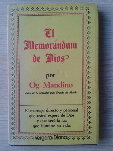 el memorandum de dios - og mandino