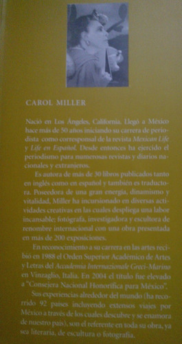 el méxico de los extranjeros,carol miller,2011