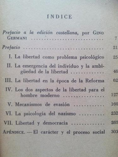 el miedo a la libertad { erich fromm}
