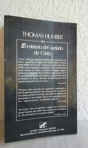 el misterio del sudario de cristo thomas humber enigmas.