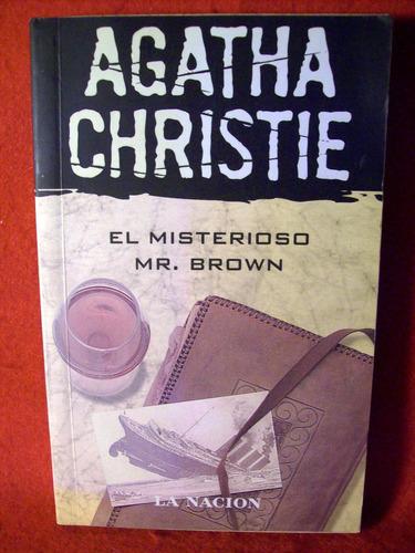 el misterioso mister brown  agatha christie editor la nación