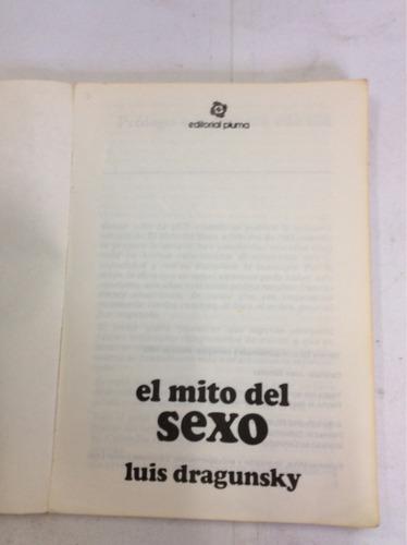 el mito del sexo, luis dragunsky