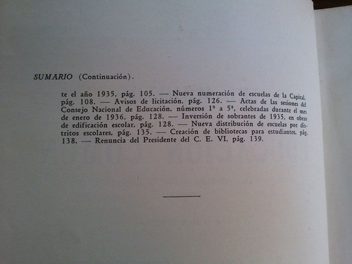 el monitor de la educación común - consejo nacional 1936