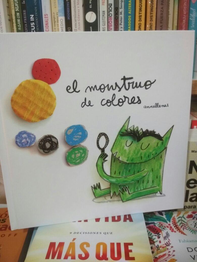el monstruo de colores - anna llenas. Cargando zoom.