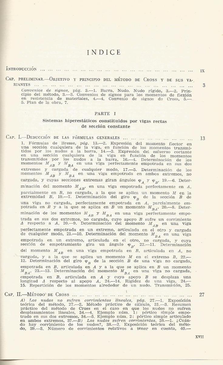 El Mtodo De Cross Y El Cálculo De Estructuras Hiperestáticas 700 00