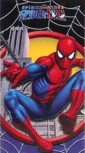 el muchacho de la toalla de playa spiderman-28wx58l
