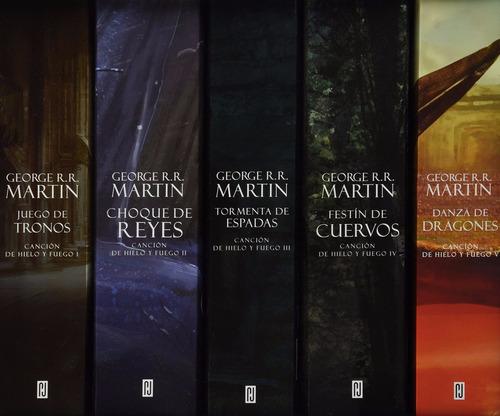 el mundo de hielo y fuego saga juego de tronos george martin