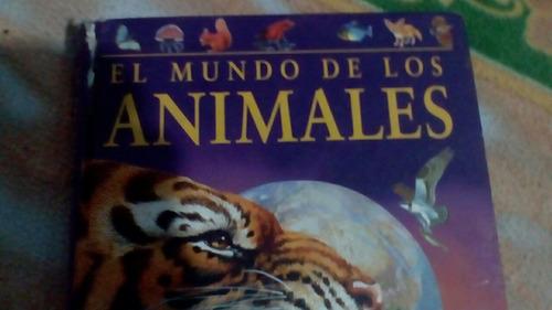 el mundo de los animales libro grande
