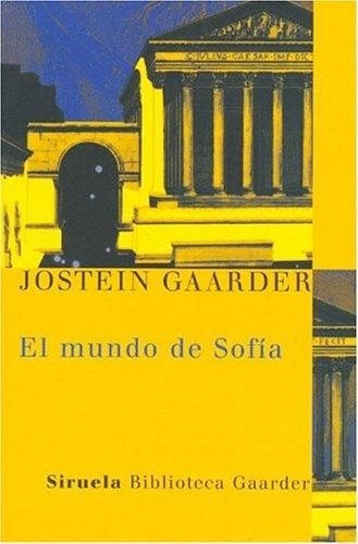 el mundo de sofia - jostein gaarder   (gru)