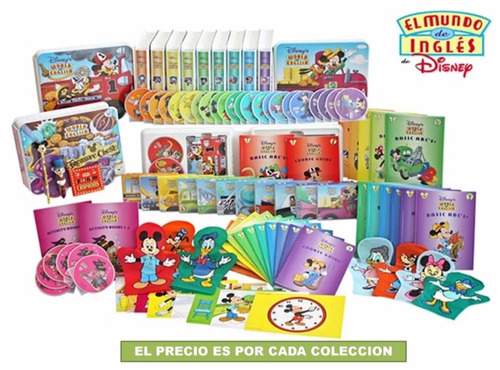 el mundo del ingles de disney en digital + regalo