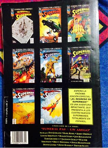 el mundo sin superman primera edición 1993