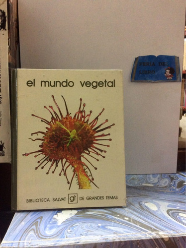el mundo vegetal. biblioteca salvat. biología plantas