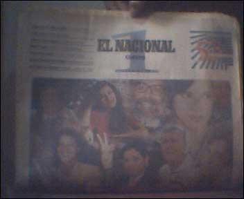 el nacional edición 53 aniversario 1996 entrevistas vdh cth