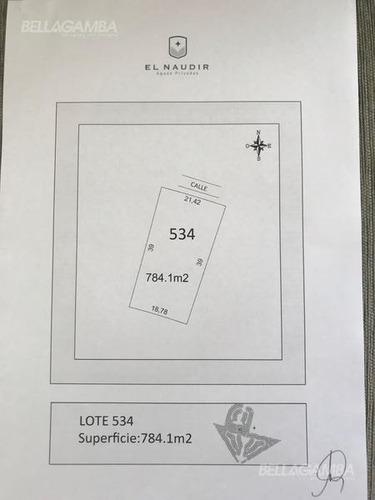 el naudir - barrio náutico - lote 534