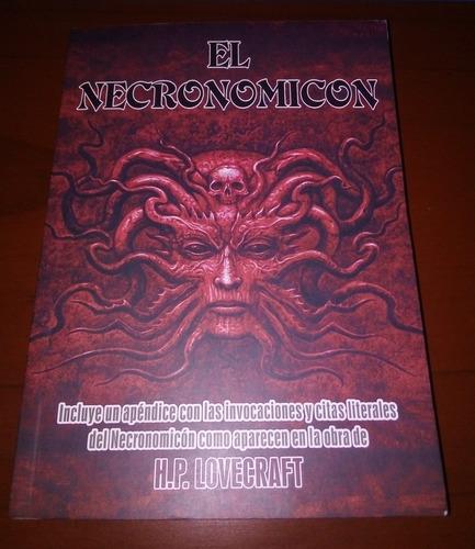 el necronomicon, libro fisico.