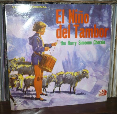 el niño del tambor lp the harry simeone chorale