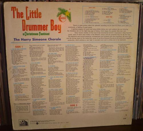 el niño del tambor lp the harry simeone chorale usa
