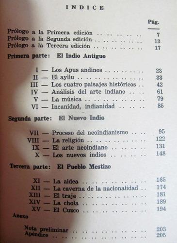 el nuevo indio. josé uriel garcía. luis e. valcárcel. 1973