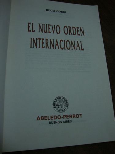 el nuevo orden internacional. hugo gobbi