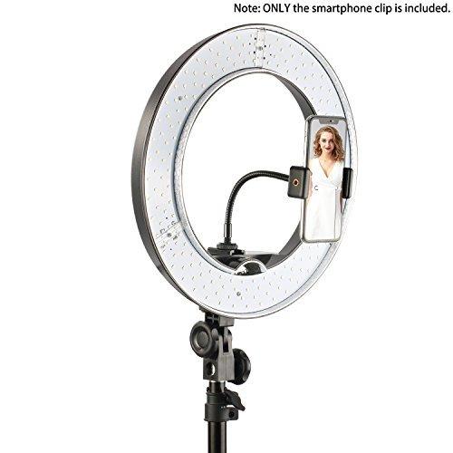 el nuevo tubo suave de luz de anillo y el soporte para telef