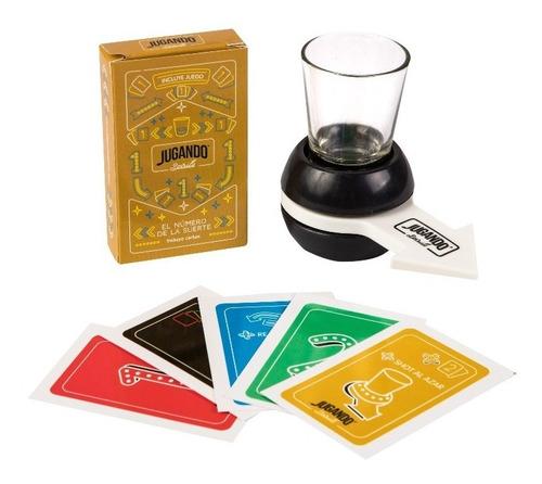 el numero de la suerte jugando spirits - juego para beber