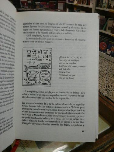 el ojo del faraon, b. rachewiltz. novela historica.