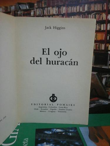 el ojo del huracán, jack higgins, novela.