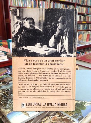 el olor de la guayaba. gabriel garcía márquez. 1era edición.