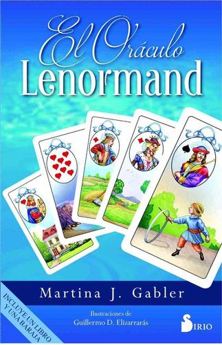 el oráculo lenormand, libro y 36 cartas