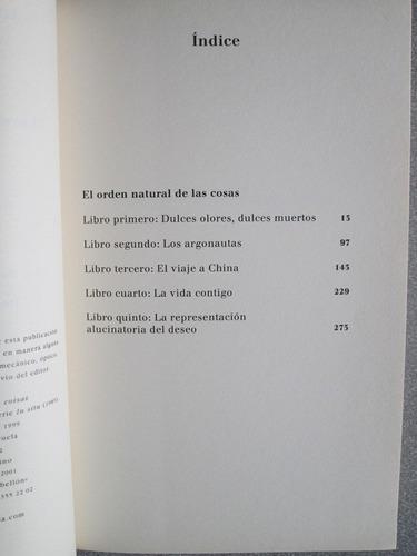 el orden natural de las cosas - antónio l. antunes - siruela