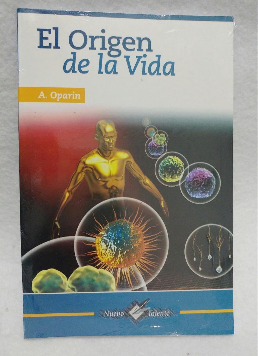 EL ORIGEN DE LA VIDA POR ALEXANDER OPARIN PDF