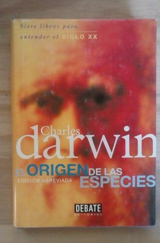 el origen de las especies (ed abreviada) charles darwin deba