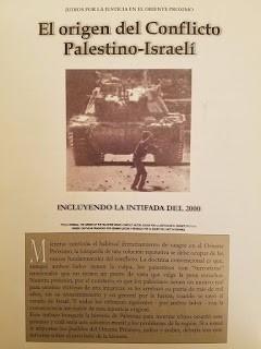 el origen del conflicto palestino - israelí / libro-folleto
